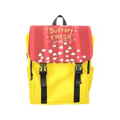 BUTTERY FRESH POPCORN Casual Shoulders Backpack (Model 1623)