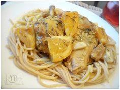 Slow-cooked Lemon-Orange Chicken in Gravy - Mama Harris Kitchen