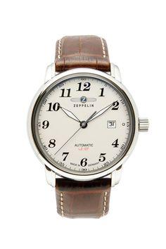 Zeppelin Uhr Nr. 7656-5 mit Gravur. Für ein individuelles Geschenk zu jedem Anlass. Wir gravieren Texte, Grafiken und Logos. Hier bestellen!