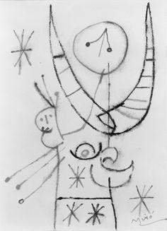 Joan Miro : Untitled