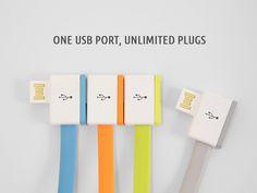 InfiniteUSB : un port USB pour plusieurs appareils