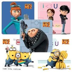 despicable me stickers.