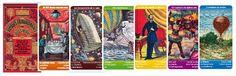Jeu de 7 familles. Les voyages extraordinaires de Jules Verne.