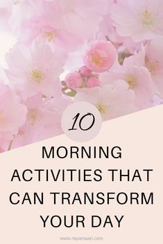 If you want to feel energized and productive everyday you need to start your day right with a perfect morning routine activities. These tips will have you feeling amazing all day boosting your overall mood. Healthy Morning Routine, Morning Habits, Morning Routines, Positive Thinking Tips, Positive Thoughts, Morning Activities, Have A Happy Day, Motivation Goals, Self Improvement Tips