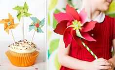 """""""How to make pinwheels 9 darling ways"""" at www.tipjunkie.com.  I like the website too, check it out."""
