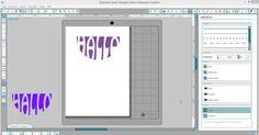 In dieser Anleitung möchte ich euch zeigen wie ihr eine Schrift in der Silhouette Software an eine Form anpassen könnt.