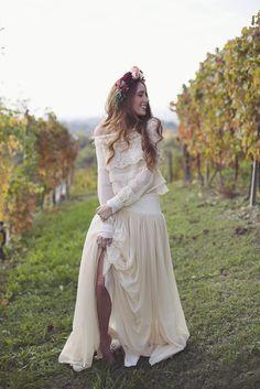 Inspiration - Un mariage marsala dans les vignes italiennes - Le Blog de Madame C