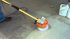 Redneck floor cleaning machine
