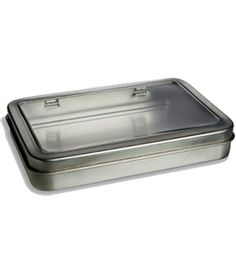 Love this website. Buy the round metal spice tins with the see through window for mere pennies!