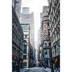 Down town ❤ liked on Polyvore featuring backgrounds, pictures, city, buildings, other and filler