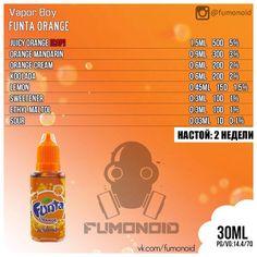 Vapor Boy (Funta Orange) - та самая, вкусная, всеми нами любимая Fanta со вкусом апельсина