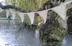 Lace Banners in the summer breeze....