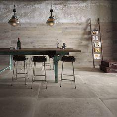 Pavimento in grès porcellanato a massa colorata BACKSTAGE by Flaviker Contemporary Eco Ceramics