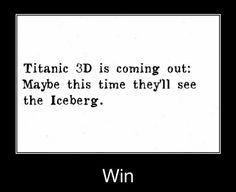 Funny memes   [Titanic 3D]