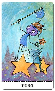 Gallery of Images from the Monstarot Tarot Card Deck. Tarot Card Decks, Tarot Cards, Tarot By Cecelia, Inspiring Things, Major Arcana, Little Monsters, Oracle Cards, Deck Of Cards, The Fool