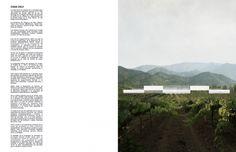 Felipe Grallert - Chile; casa celv Architecture Board, Architecture Graphics, Landscape Architecture, Portfolio Layout, Portfolio Design, Presentation Design, Thesis, Book Design, Typography Design