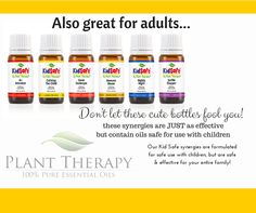 Want to use safe, gentle and effective essential oils with your family? Check out our KidSafe Synergies!