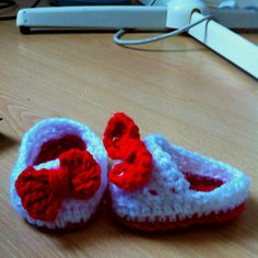 Baby Slippers made by me
