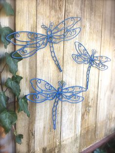 Dragonfly wall art Etsy listing at https://www.etsy.com/listing/201689274/dragonfly-decor-garden-decor-garden-wall