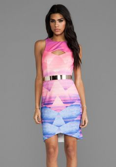 Lumier Lost In Paradise Mini Dress on shopstyle.com