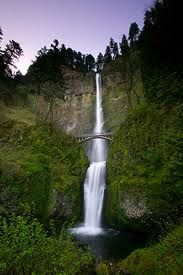 Multnomah Falls, Oregon.  We went on a 3 week road trip around the US and this was our first stop on the way within an hour of our home.  This is one of the tallest waterfalls in the US at 611 feet.  It's always pretty.