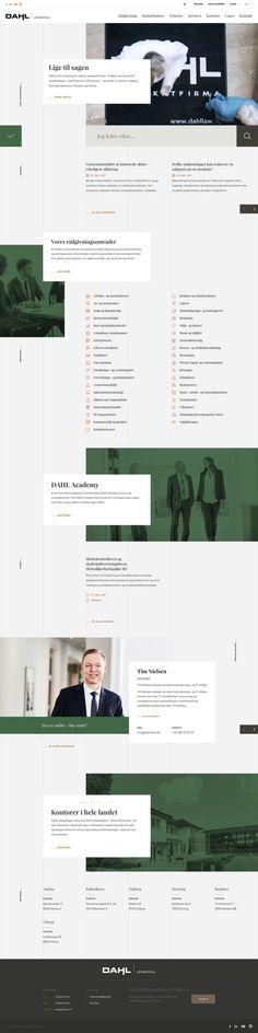 Dahl Law Firm Website Design 2018 #lawyerwebsites #lawfirmwebsite #lawyer #website #attorney #lawfirm #webdesign