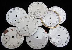 Vintage Antique Watch Dials Steampunk Faces by amystevensoriginals, $30.00