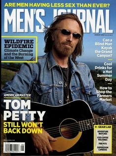 Tom is on the cover of @MensJournal this month! On newsstands now; check out highlights at http://MensJournal.com! pic.twitter.com/Z6Dt7wlDrE mine today, classic rock, tom petti
