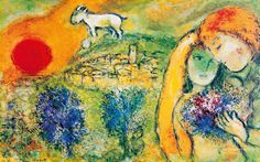 marc chagall paintings | Marc Chagall Wallpaper, Paintings, Art | Art Wallpaper