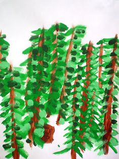 Lessons from the Art Room: Forests inspired by the artist Emily Carr