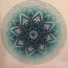 Crochet Potholders, Crochet Doilies, Crochet Stitches, Crochet Wall Art, Crochet Mandala Pattern, Dream Catcher, Dreams, Crafty, Patterns