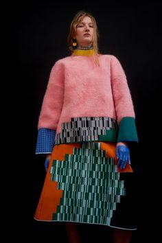 "Chen Zhi celebrates fashion's ""superficial"" reputation with new collection Knitwear Fashion, Knit Fashion, Trendy Fashion, High Fashion, Fashion Trends, Dress Fashion, Conceptual Fashion, Shirt Designs, Fashion Details"