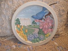 Beautiful Avon Plate 1984 Spring 3 D Effect by Daysgonebytreasures, $18.00