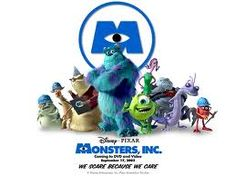 Monsters Inc. Disney and Pixar Randy Newman Monsters Inc theme Monsters Inc Movie, Monsters Inc Boo, Monsters Ink, Pixar Movies, Cartoon Movies, Disney Movies, Pixar Characters, Bonnie Hunt, Billy Crystal