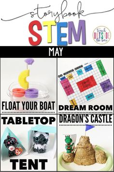 Four Summer themed STEM Challenges and Language Arts lessons to accompany favorite end of the year read alouds! Elementary STEM Activities |End of the Year STEM | Summer STEM | Kindergarten, First Grade, Second Grade