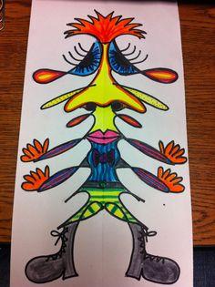 Drip, Drip, Splatter Splash: Name Creature Steps