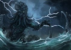 cthulhu paintings - Google Search