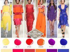 Beautiful brights Bio Sculpture, Bright, Fashion Trends, Beautiful, Trendy Fashion