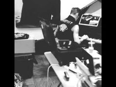 Andy Biersack playing the piano  I feel like that should be the intro to a talk show with him :L