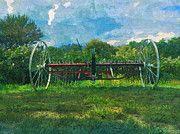 """New artwork for sale! - """" Vintage Farm Equipment   by PixBreak Art """" - http://ift.tt/2m2MnCh"""