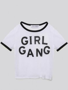 Girl Gang Ringer Tee - Gypsy Warrior
