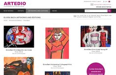 Elvira Bach artworks and limited editions for sale at online art gallery ARTEDIO. Buy Elvira Bach prints and originals easily and safely online now. Elvira Bach, New Words, Online Art Gallery, Artworks, Contemporary Art, Website, Prints, Artist, Art Pieces
