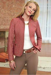 On the blog: Nina McLemore Claudette Jacket | Corporette