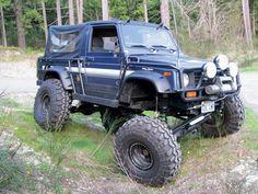 Long wheel base Suzuki Samurai