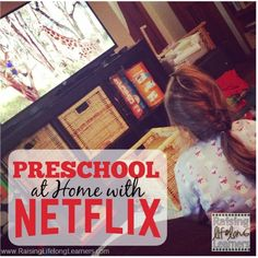 FREE Preschool with Netflix Printable - Roadschooling with The Frugal Navy Wife