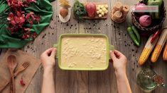 Cartofi la cuptor - o rețetă incredibil de simplă, delicioasă și aromată! - savuros.info Bamboo Cutting Board, Hummus, Ethnic Recipes