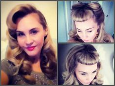 Betty Bangs and Victory Rolls