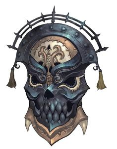 Daebraus. Possessed by the soul of a dark sorcerer, this shield draws the attention of those around it unless veiled and speaks to it's wielder.