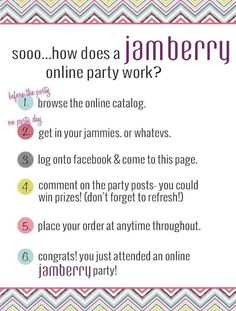 Book an online party!  https://kristinabusch.jamberry.com                                                                                                                                                                                 More