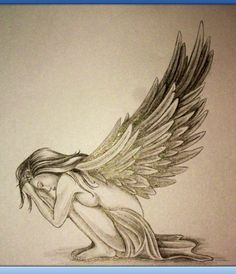 Pretty angel sketch... <3